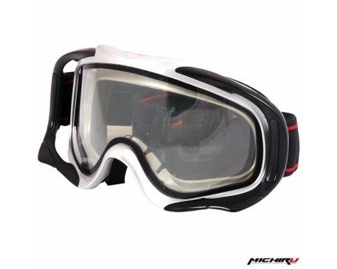 Очки кроссовые с двойным визором MICHIRU G800
