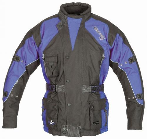 Куртка AKITO PYTHON черная/синяя