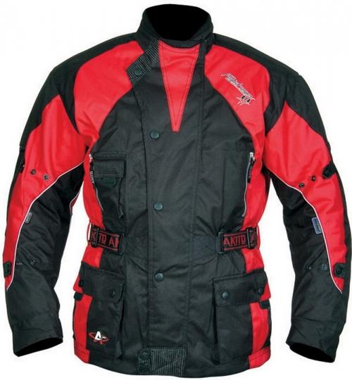 Куртка AKITO PYTHON черная/красная