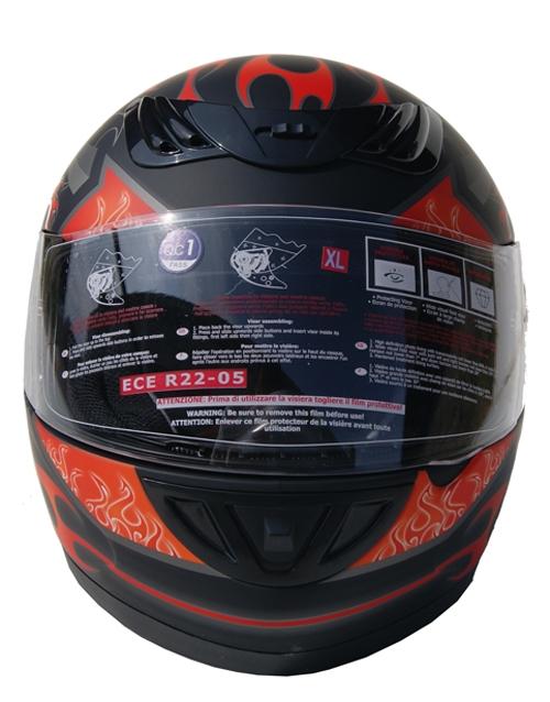 Интегральный мотошлем H501