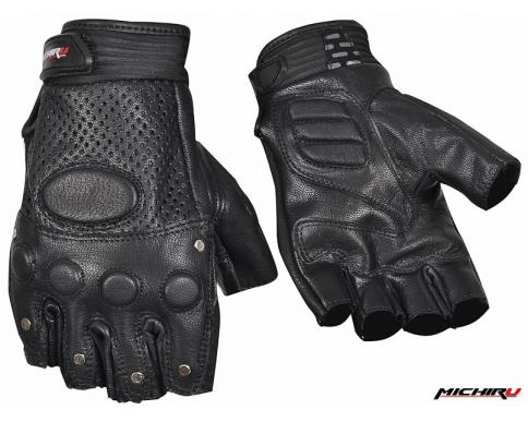Мотоперчатки Michiru G8010 черные