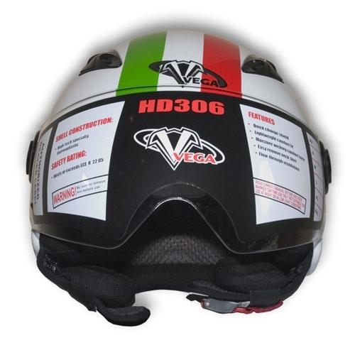 Мотошлем VEGA HD 306 JR Italy Flag