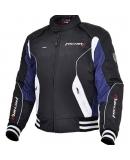 Куртка мотоциклетная Urban черно-синяя