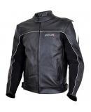Куртка мотоциклетная Action черно-белая