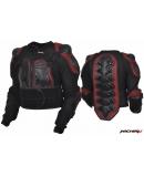 Куртка защитная Protection Jacket черно-красная MICHIRU