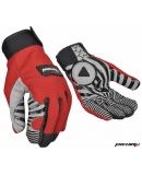 Перчатки Michiru G8109 красные